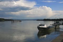 Danube River in Vidin (lyura183) Tags: river boat bulgaria danube donau vidin