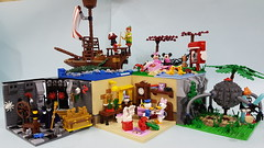 Group Photo 2 (Angela CYC) Tags: lego disney minifigures