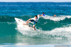 Surfing Juniors - Far North Coast (sbyrnedotcom) Tags: blue sea beach sports surf waves action australia surfing nsw surfers tamron grommets lennoxhead