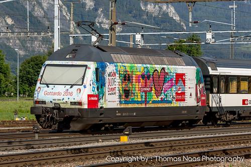 460 099-5 : die Mobiliar - Gottardo 2016