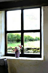 Window with vase (Peter Denton) Tags: uk flowers church window wales ventana quiet peace fenster cymru finestra vase janela tranquil raam powys fentres okno vindu prozor venster fnster ablak leiho tamronaf28300mmf3563 capelyffin fuinneog canoneos60d peterdenton