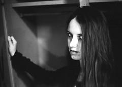 goth (Luca Scarpa) Tags: portrait blackandwhite bw film gothic goth bn biancoenero