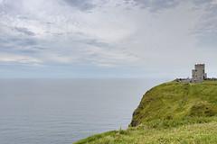 Cliffs of Moher - O'Brien's Tower (Manolo Blanco) Tags: irlanda ireland cliff moher clare wild atlantic way acantilados