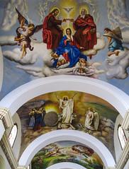 """Trujillo: le plafond de l'allée centrale de la Cathédrale <a style=""""margin-left:10px; font-size:0.8em;"""" href=""""http://www.flickr.com/photos/127723101@N04/27194764004/"""" target=""""_blank"""">@flickr</a>"""