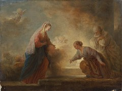 Attributed to Jean-Honor Fragonard - The visitation (Pau NG) Tags: art paintings jeanhonorfragonard
