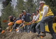 Members of the Highway 89 Stewardship Team (USDAgov) Tags: california forestry wildlife fs pacificsouthwestresearchstation sagehencreekfieldstation westerntransportationinstitute