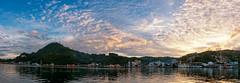 Jayapura Panorama b (Jokoleo) Tags: sunset panorama indonesia bay outdoor papua jayapura