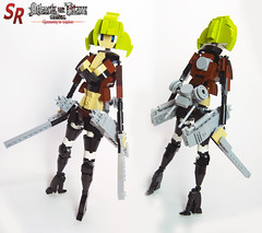 Attack on Titan custom character 11 (shirokeima) Tags: diy lego attack titan on moc mikasa shingeki