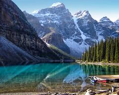 jdn_080913-7 (needhamlloyd) Tags: canada reflection banff morainelake valleyofthetenpeaks turquoisewater