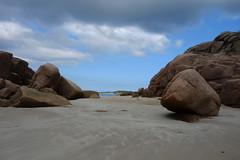 Bunbeg Beach  [Explore] (Eskling) Tags: ireland sea sky clouds coast sand rocks granite donegal bunbeg