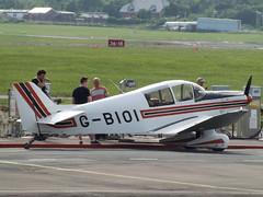G-BIOI Jodel (Aircaft @ Gloucestershire Airport By James) Tags: james airport gloucestershire lloyds jodel egbj gbioi