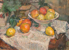 Mathilde Vollmoeller-Purrmann, Still Life with Fruit, ca. 1906-07, SF MOMA (Sharon Mollerus) Tags: sanfrancisco california unitedstates sanfranciscomuseumofmodernart