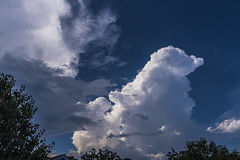 blue sky cloud white storm clouds georgia nikon outdoor... (Photo: J Swanstrom (Never enough time...) on Flickr)