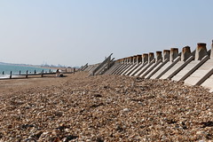 Eastoke Beach 2014 (steve 2001) Tags: beach sea hampshire summer groyne