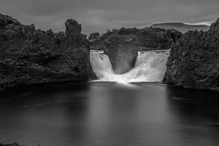 Double waterfall.