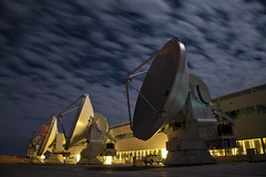 Silky clouds (ansack) Tags: alma antenna antennas chile desert observatorio science sky night clouds