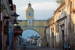 El Arco de Santa Catalina and volcano Agua, Antigua, Guatemala (Miche & Jon Rousell) Tags: street architecture volcano agua arch guatemala antigua baroque santacatalina volcanoagua