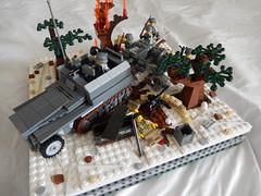 Armor advance. (Brick Lieutenant) Tags: america lego military ww2 germans brickarms legoww2 legomiltary
