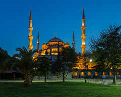 The blue mosque (PixPep) Tags: turkey istanbul bluehour thebluemosque pixpep