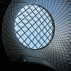 Sky Reflector-Net (fotovisiva) Tags: nyc newyorkcity light sky ny net station architecture subway manhattan explore mta architettura oculus fultoncenter fotovisiva skyreflectornet fultonbuilging
