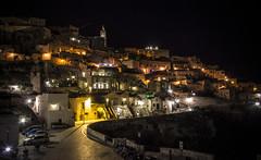 Matera by night (www.giorgiopuddu.com) Tags: city travel light italy color night nikon italia basilicata explore nightlight matera notte citt