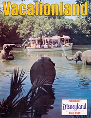 Vacationland Fall 1965 01 - cover (Tom Simpson) Tags: vintage boat disneyland disney 1960s junglecruise vacationland adventureland 1965 vintagedisneyland vintagedisney