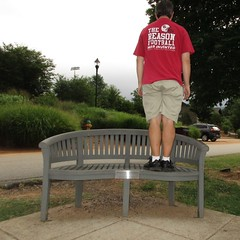 Bench Monday: Backwards Edition (pikespice) Tags: bench hbm werehere 10millionphotos benchmonday hereios