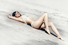 summer (RubenMar) Tags: summer beach girl exterior moda playa modelo galicia bikini pontevedra vigo ailen rubenmar