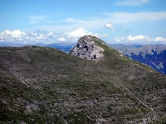 Pizzo Deta from south of Monte del Passeggio (markhorrell) Tags: walking lazio apennines montiernici