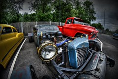 What a Rat. (Steve.T.) Tags: car nikon rat automobile engine hotrod vehicle headlight essex customcar customised empirediner rivenhall d7200