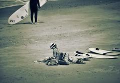 RELAX. (Poldarkk) Tags: summer art beach girl relax surf arte alma soul nake snad irun desnuda aquitaine poldarkk