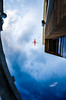 Planes over Mill (Brooke Wrightt) Tags: arizona urban storm architecture clouds outdoor fineart airplanes overcast lookingup fineartphotography millave