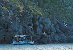 Fishing Boat (Olympus OMD EM5Ii & mZuiko 40-150mm Pro Zoom) (markdbaynham) Tags: island greek north aegean hellas evil olympus greece grecia gr zuiko omd csc oly mz limnos hellenic m43 zd mft lemnos myrina mirrorless micro43 mzuiko m43rd em5ii zuikolic