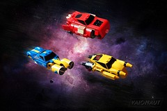 Hyperdrive Hoppers (Vaionaut) Tags: lego space galaxy scifi coruscant legospace