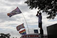 Ice Cream Madness (martinpsamuels) Tags: glastonbury festival somerset worthy farm pilton van