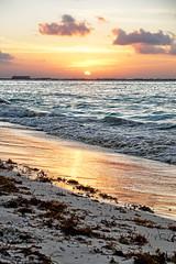 MEXICO - Isla Mujeres - Quintana Roo (Infinita Highway!) Tags: ocean trip travel sunset sea sol praia beach water america mexico highway do sony central playa viagem alpha mujeres isla por infinita spiagia