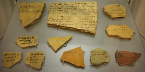 Phoenician ostraka