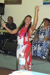solo hula (BarryFackler) Tags: party people musician music woman flower hawaii polynesia dance dancers guitar stage hula indoor dancer celebration hawaiian tropical microphone bigisland performers kona sarong waterbottle cultural highschoolgraduation guitarplayer polynesian lavalava wahine holualoa entertainers 2016 specialoccasion hawaiianislands huladancers hawaiiisland sandwichislands westhawaii kumuhula northkona hawaiianheritage barryfackler barronfackler leihaka culturalpractitioners saleishasgraduationparty konaimincenter saleishalauronal saleishaleleekealaulalauronal
