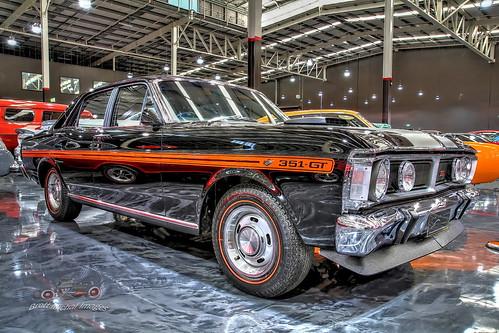 1971 Black Onyx XY GTHO Phase 111 Ford Falcon, Gosford Classic Car Museum