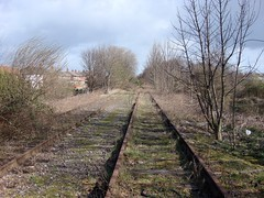 Bescot in 2007 (Paul - Bevan) Tags: abandoned ex water station buildings river concrete track crossing motorway steel south union columns rail railway grand structure signals trent seven sewage land works disused network curve m6 relay tame beams girders treatment staffs ews sidings i bescot