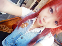 SKYLER'S (30) (LEECHINHWA l skyler) Tags: red cute girl beautiful hair doll pretty mask sweet russia gray korea korean lee kawaii spike uzbekistan chin skyler hwa pika lenses taki takumi bestface chinhwa ulzzang uljjang ohljjang leechinhwa