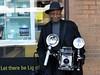 Let there be Light! (Eddie C3) Tags: newyorkcity photography manhattan streetphotography oldschool polaroids cityscenes streetphotographer graflexspeedgraphic louismendes nikond7000