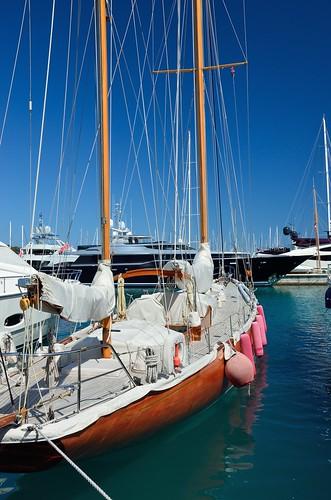 Agneta sailing boat