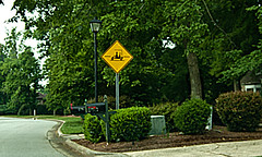 golf cart crossing (tommaync) Tags: oneaday sign yellow tom golf nc nikon crossing may photoaday cart trafficsign chapelhill warningsign pictureaday d40 project365 2013 golfcartcrossing project365132 project365051713