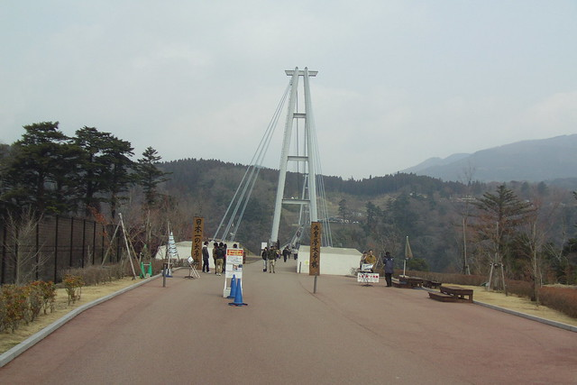 大迫力の九重夢大吊橋 九重夢大吊橋(人道橋)
