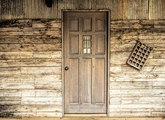 The Door (katsrcool (Kool Cats Photography)) Tags: door wood travel house color building oklahoma wall design structure arcadia 24105 yabbadabbadoo arcadiaoklahoma traveloklahoma canont3i canon24105f4lisusmlens