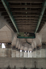Under the Bridge (willumhg) Tags: uk bridge sea england wales river sony tide estuary severn a200