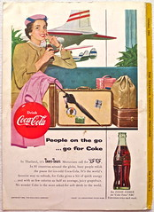 1954 - 1950s Vintage Coca Cola Advertisement From National Geographic Back Page 35 (Christian Montone) Tags: vintage ads advertising coke americana soda cocacola advertisements sodapop vintageads vintageadvert