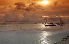 Cloudy afternoon (maciej.ka) Tags: sunset boracay banca banka bangka boracaybeach boracaysunset bankas boracaysun boracayphilipines