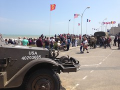 Arromanches (South Strand Trucking) Tags: beach soldier army war historic musee beaches museums dday landings militry